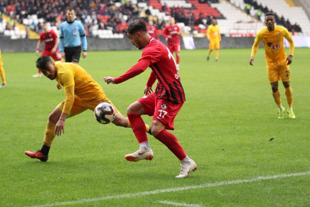 Spor Toto 1. Lig: Gazişehir Gaziantep: 1 - Eskişehirspor: 1