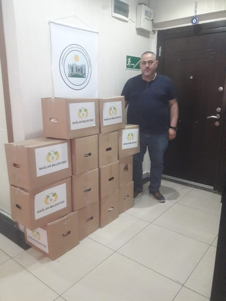 Diyarbakır'da ihtiyaç sahibi ailelere yardım