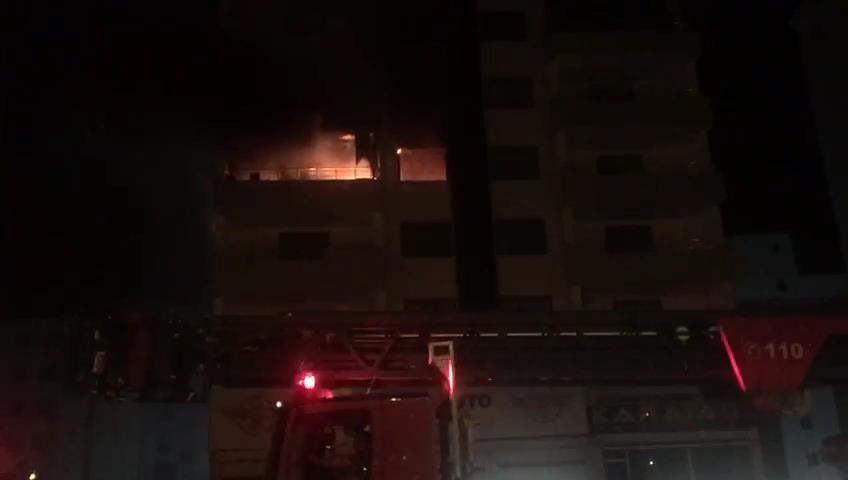 Diyarbakır'da yangın faciasını kamyon sürücüsünün kornası önledi