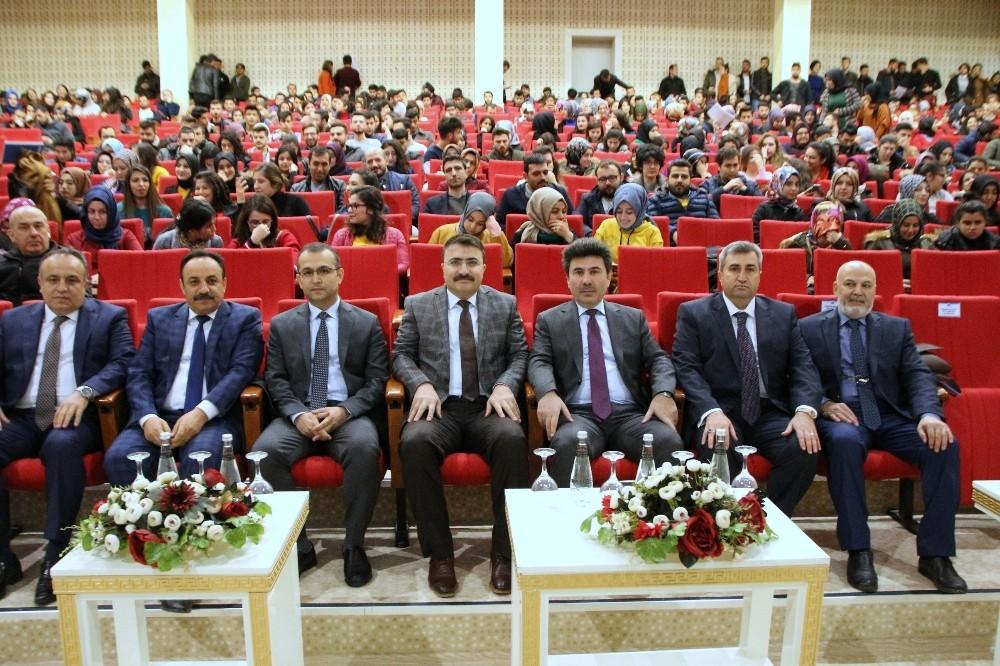 """Üniversitede """"İŞKUR Kampüste"""" konulu program"""