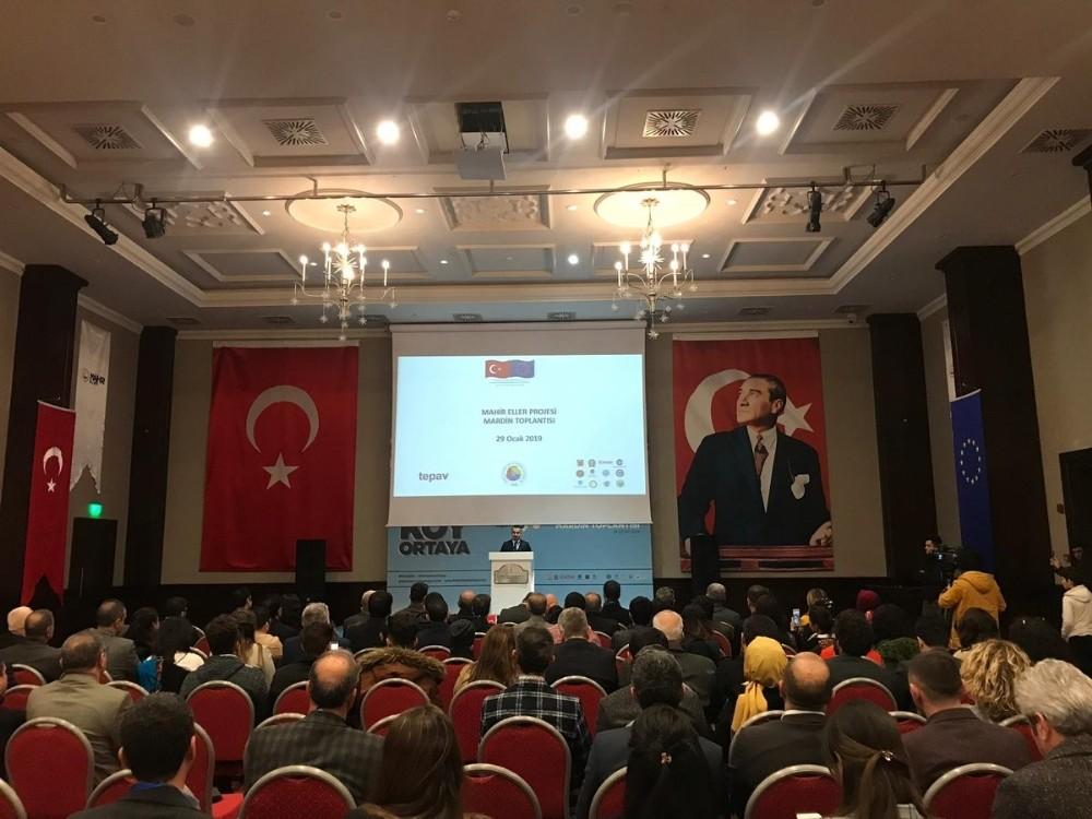 Mahir Eller Projesi Mardin'de ekonomiye değer katacak