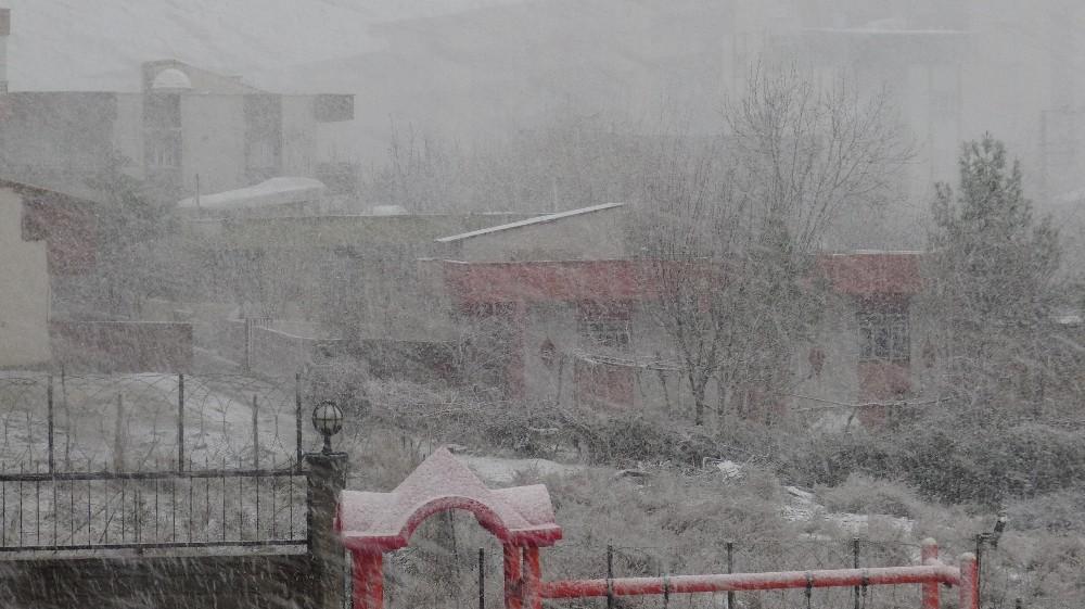 Silvan'da kar yağışı hayatı olumsuz etkiliyor