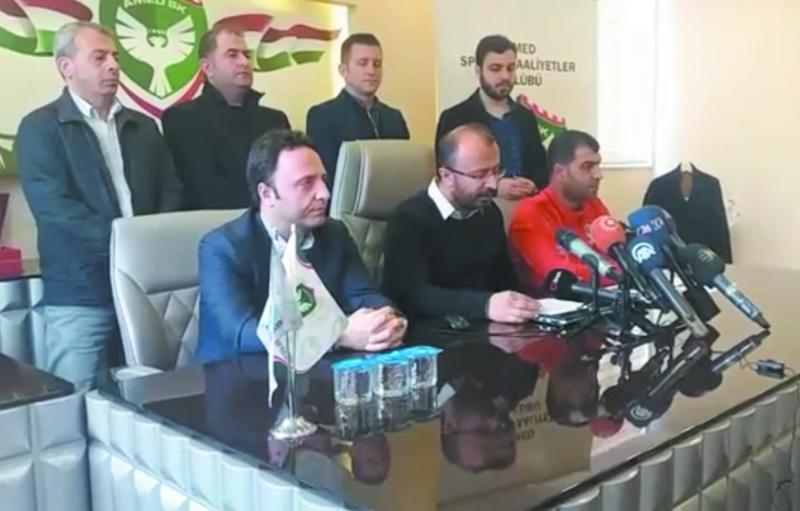 Amedspor'dan 'jilet' açıklaması