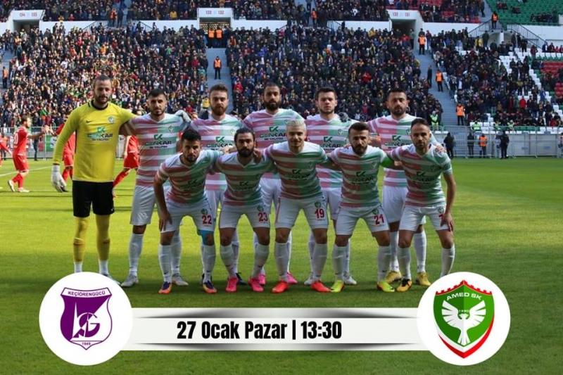 Amedspor ve Diyarbekirspor'da Puan durumu, Haftanın maçları