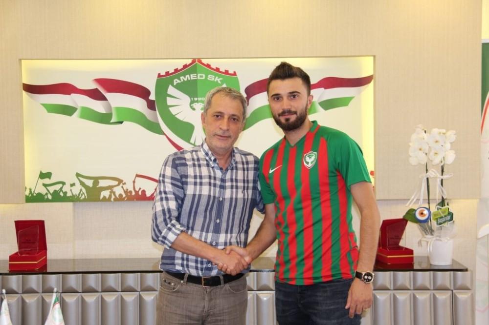 Amed Sportif Hüseyin Yılmaz'ı transfer etti