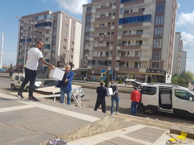 DİYARBAKIR'DAKİ SPOR CAMİASINDA  KORONAVİRÜS SEFERBERLİĞİ