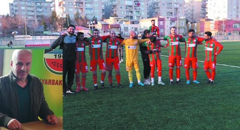 Diyarbakırspor'da galibiyet sevinci