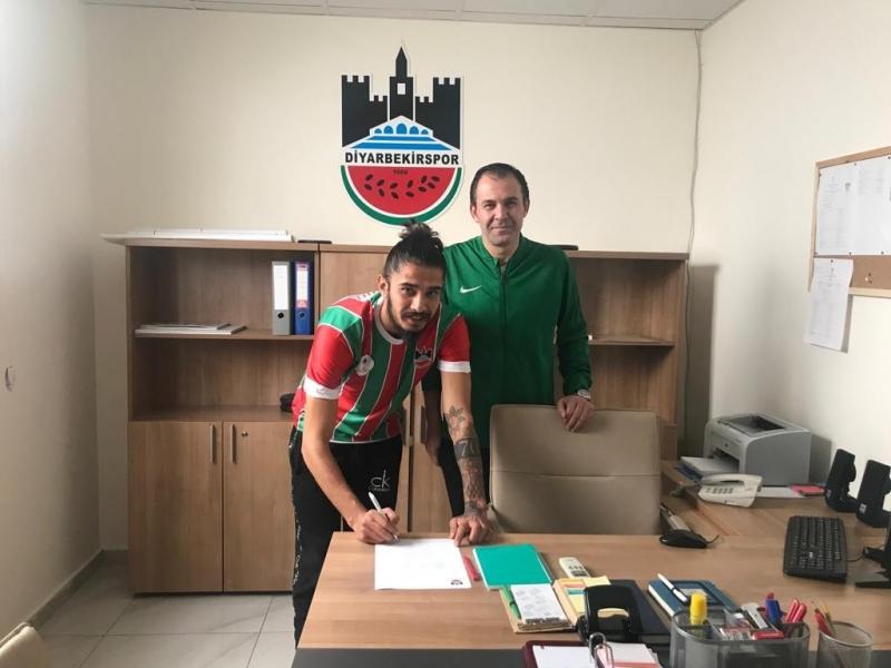 Diyarbekirspor'dan bir transfer