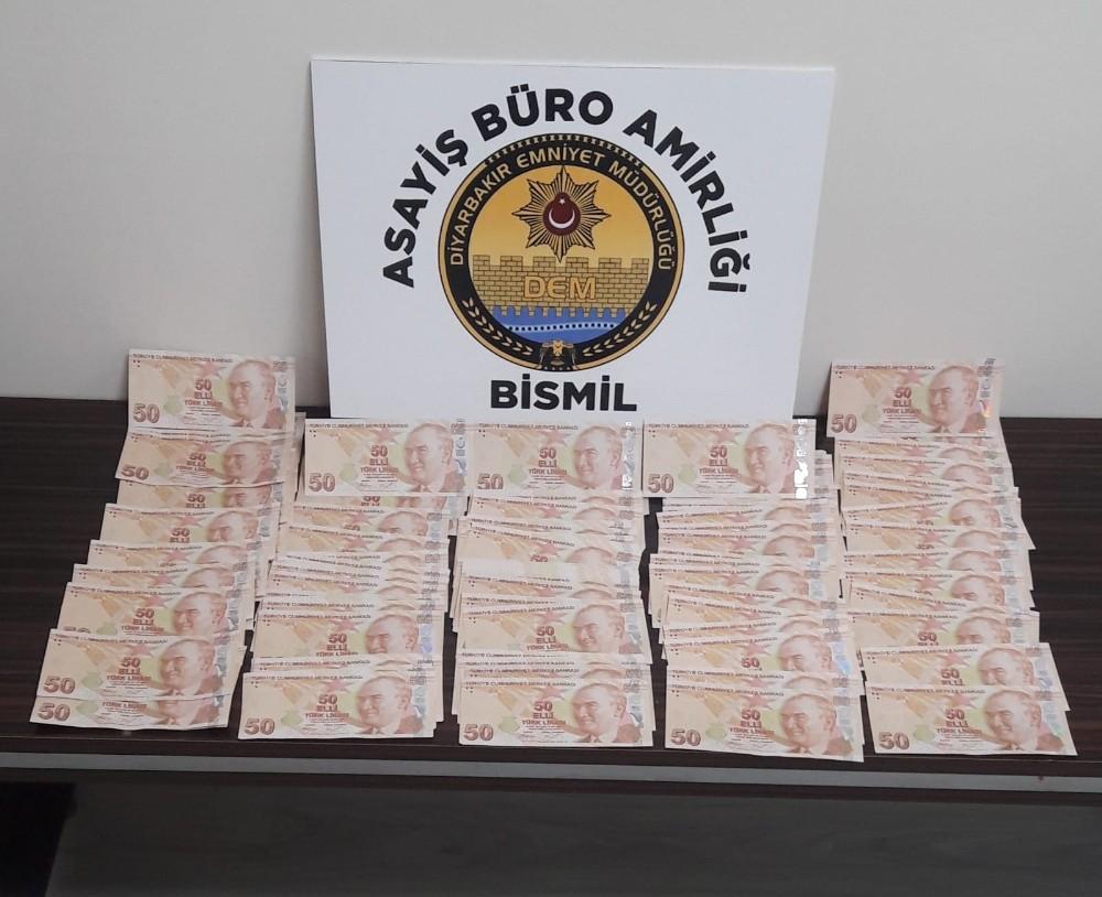 Bismil'de esnafa sahte para veren şüpheli yakalandı