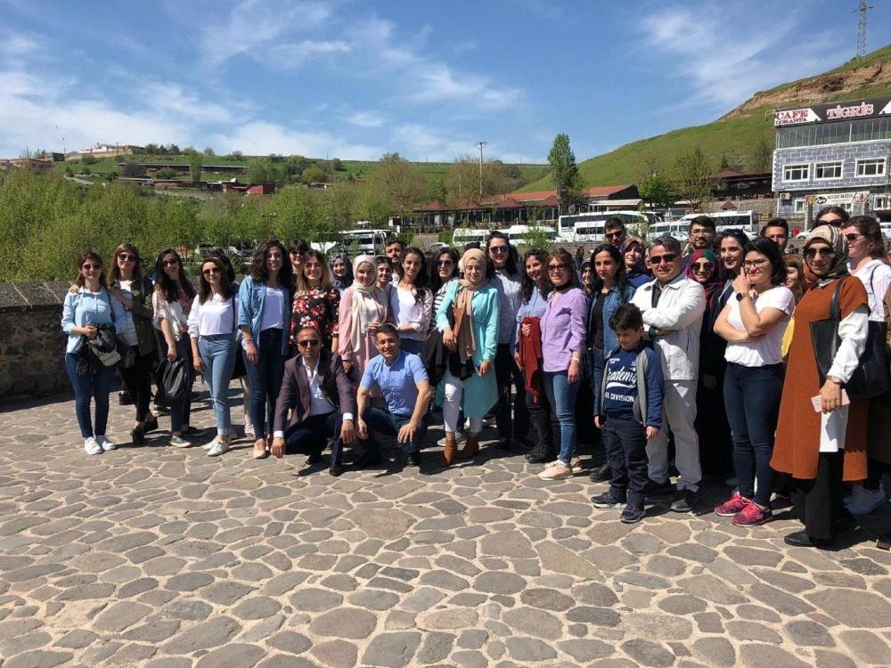 Aday öğretmenler Diyarbakır'ı tanıyor