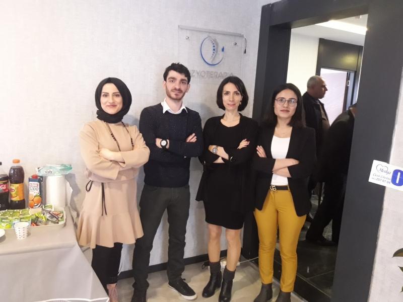 Fizyoterapia sağlık yaşam ve fizyoterapi danışmanlık merkezi açıldı