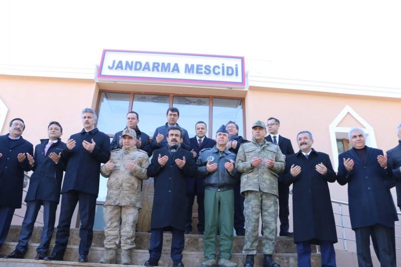 Jandarma mescidi törenle açıldı