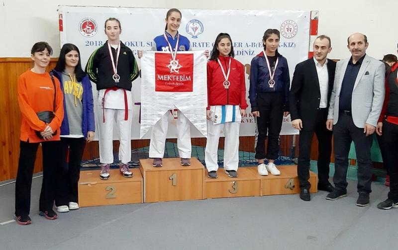 Karadeniz'de Diyarbakır Karate Fırtınası