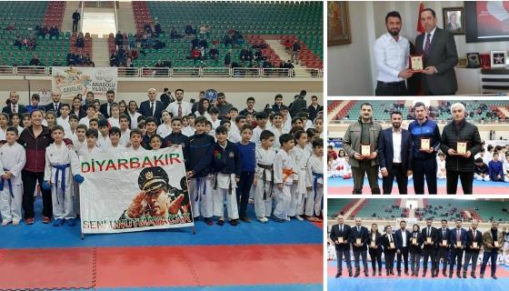 Şehit Emniyet Müdürü Okkan adına ilk kez karate turnuvası düzenlendi