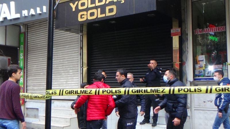 Diyarbakır'da soygun; Kuyumcu öldürüldü