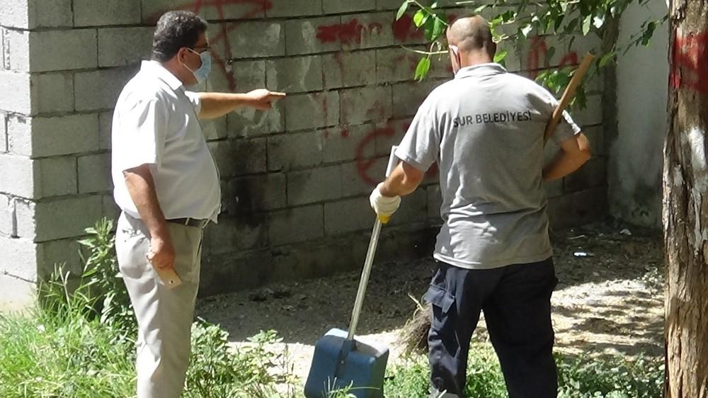 Sur'da temizlik seferberliği