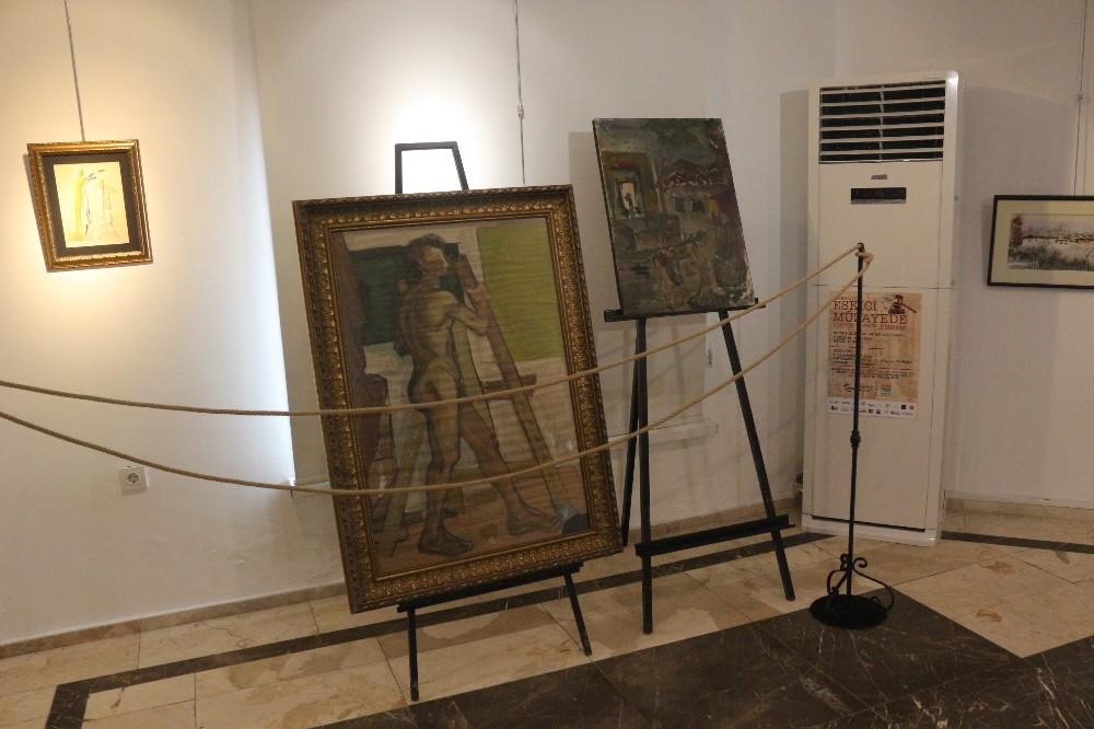 Dünyaca ünlü ressam Dali'nin eseri Marmaris'te sergileniyor