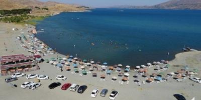 Diyarbakır'da vakalar artınca Hazar Gölü'ne kısıtlama geldi